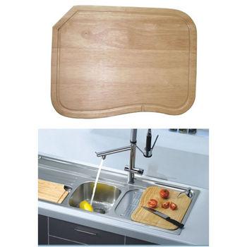 Dawn® Cutting Board in Natural Wood, 16'' W x 11-7/8'' D x 1-1/8'' H