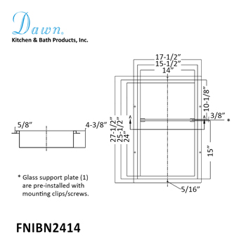 "27-1/2"" Height Specifications"