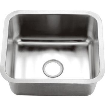 Dawn Sinks 16-Gauge Single Series Stainless Steel Undermount Sink