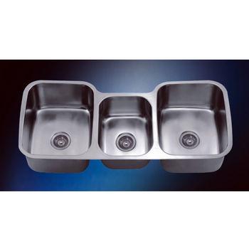 Dawn Sinks Triple Series Stainless Steel Undermount Sink