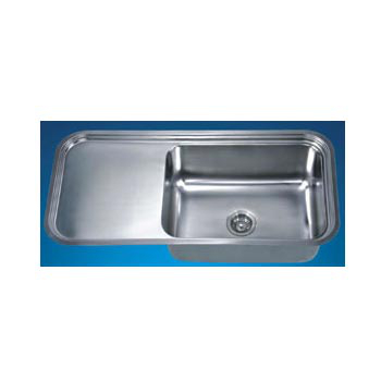 "Dawn Sinks Single Series Stainless Steel Undermount Sink, 41-3/8"" W x 19-3/4"" D x 11-3/8"" H"