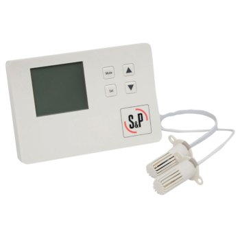 S&P Envirosense Ventilation Control 24V, Back-Lit LCD Screen