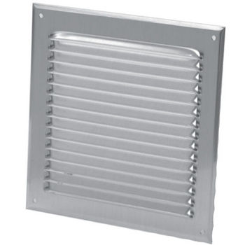 "S&P - 4"" - 8"" Aluminum Exterior Fixed Grill"