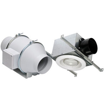 Bathroom Fans Inline Remote Bathroom Exhaust Fans From