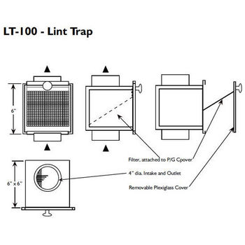 S&P Dryer Lint Trap