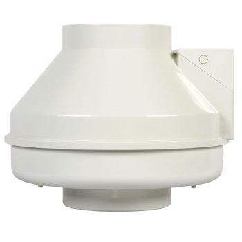 "S&P 6"" Inline Radon Mitigation Fan, Fully Sealed, 321CFM, 120V/60Hz, 136W, 2890 RPM"