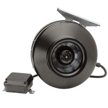 """S&P PV Series 4"""" -8"""" Inline Centrifugal Duct Fan Turbo 153 CFM"""