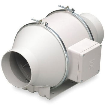 Su0026P Inline Mixed Flow Exhaust Fan, Available In A Variety Of Choices