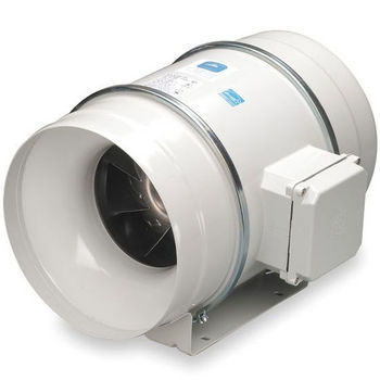 S P Inline Flow Exhaust Fan For 12 2 5 Duct 1089 Cfm