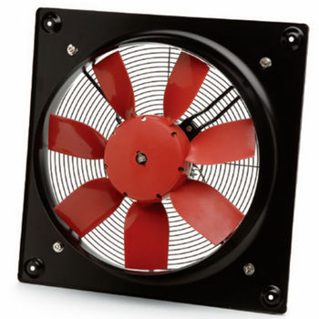 "S&P 12"" Wall Direct Drive Axial - 1260 CFM"