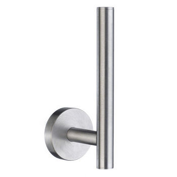 "Smedbo Home Line Brushed Chrome Spare Toilet Roll Holder 5-1/2"" H"