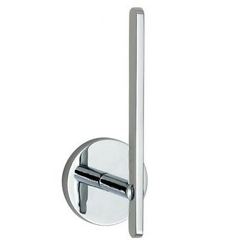"Smedbo Loft Polished Chrome Spare Toilet Roll Holder 5-5/8""H"