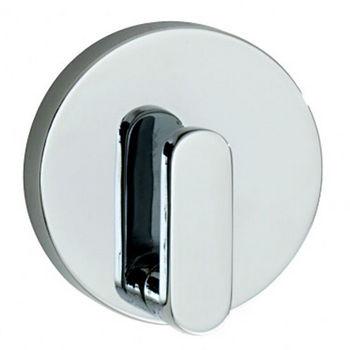 """Smedbo Loft Polished Chrome Towel Hook 2-1/8"""" D"""