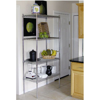 Advance Tabco Chrome Wire Adjustable Shelving