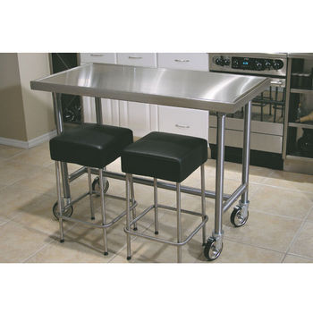 Kitchen Island 30 X 24 kitchen carts and chef tablesadvance tabco | kitchensource