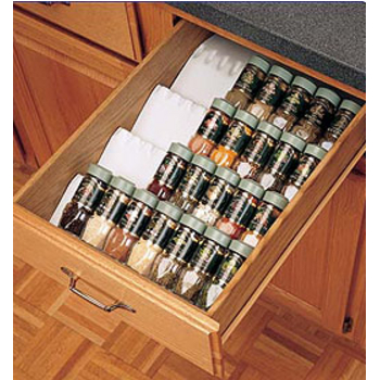 Captivating Cutlery U0026 Flatware Drawer Inserts, Spice Drawer Inserts