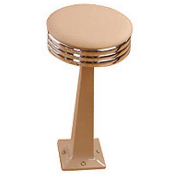 Sass Stools #2010 - 19'' to 25'' Classic with Polished Chrome Seat