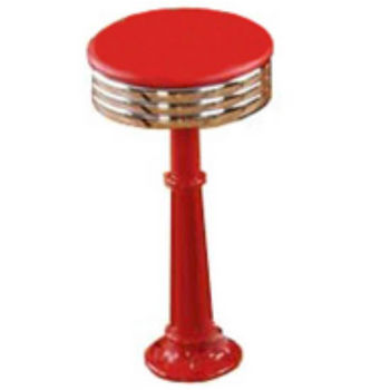 Sass Stools #3010 - 16'' to 30'' Roman with Polished Chrome Seat
