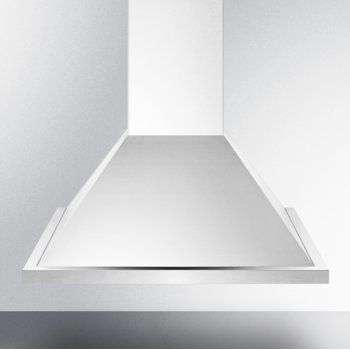 "Summit Appliance 24"" ADA Compliant European Wall-Mounted Range Hood in Stainless Steel with Remote Wall Switch, 23-5/8"" W x 19-5/8"" D x 36"" H"