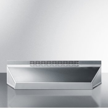 Stainless Steel Front View