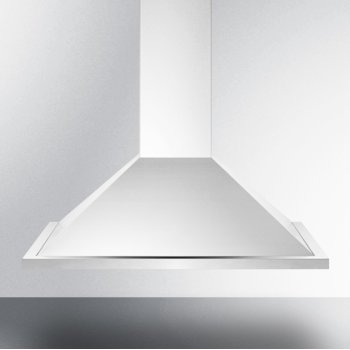 """Summit Appliance 30"""" ADA Compliant European Wall-Mounted Range Hood in Stainless Steel with Remote Wall Switch, 29-3/4"""" W x 19-5/8"""" D x 32"""" H"""