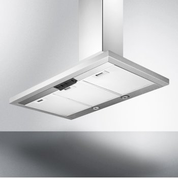 "36"" Stainless Steel Underneath View"