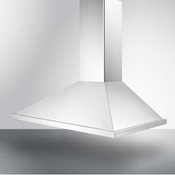 "36"" Stainless Steel Angle View"