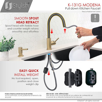 All Faucets - Easy Install 1