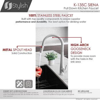 All Faucets - Spout Details 2