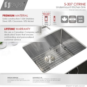 All Sinks - Premium Material