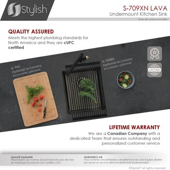 """16'' and 30"""" Kitchen Sink - Quality Assured"""