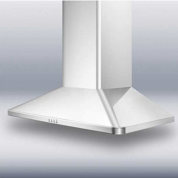 Storch Wall Mounted European Range Hoods, Stainless Steel