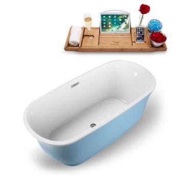 59'' - Blue Tub Angled View
