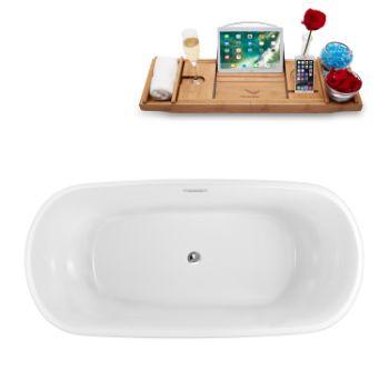 59'' - White Tub Top View