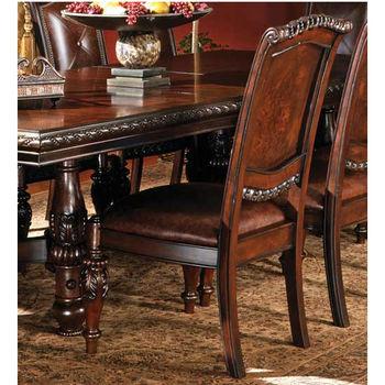 Steve Silver Antoinette Side Chair, Cherry Finish