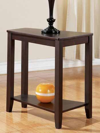 """Steve Silver Joel Chairsside End Table Oak, 16'W x 24""""D x 24""""H"""