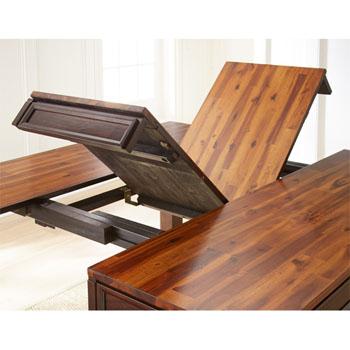 Steve Silver Abaco Table, Acacia Finish