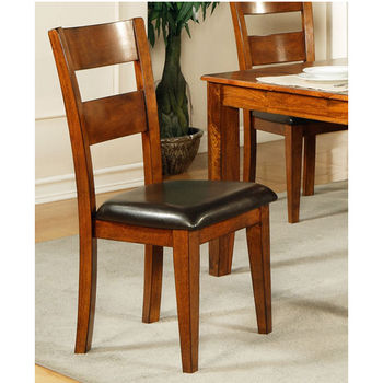 Steve Silver Mango Side Chair, Light Oak Finish