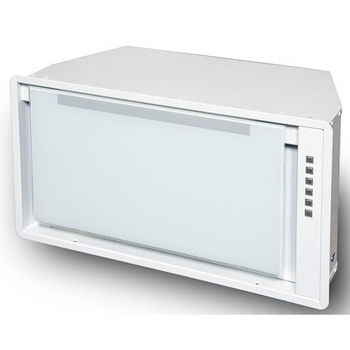Sirius SU913 Custom Built-In Range Hood Power Pack Insert, 600 CFM Internal Blower, Stainless Steel, 4 Speed Push Button Control Panel, LED Lights