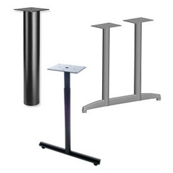 Support Cylinders Table Bases
