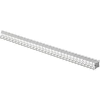 "Task Lighting illumaLED™ 007 Series 48"" - 90"" Flat Aluminum Housing Profile, Clear Lens"