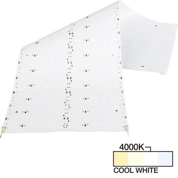 """Task Lighting illumaLED™ LED Sheet Light Series Flexible LED Sheet Light, Cool White 4000K, 24"""" W x 9"""" D"""
