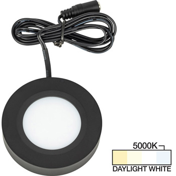 Black Puck Light, Daylight White 5000K Product View