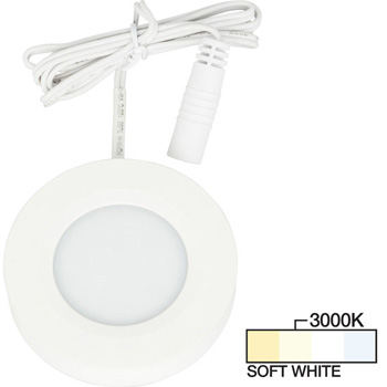 White Puck Light, Soft White 3000K Product View