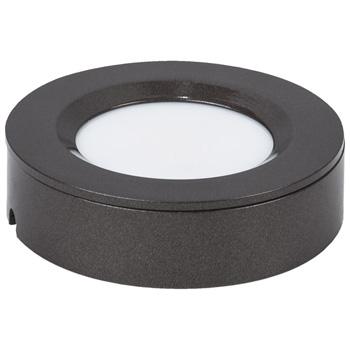 "Task Lighting illumaLED™ TandemLED™ 2-3/4"" Diameter Bronze Housing Tunable Multi-White Puck Light, 2-3/4"" Diameter x 5/8"" H"