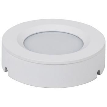 "Task Lighting illumaLED™ TandemLED™ 2-3/4"" Diameter White Housing Tunable Multi-White Puck Light, 2-3/4"" Diameter x 5/8"" H"