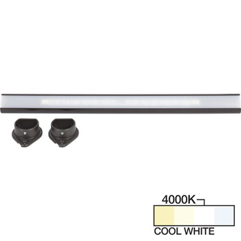 Bronze Closet Rod, Cool White 4000k View 1