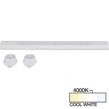 White Closet Rod, Cool White 4000k View 1