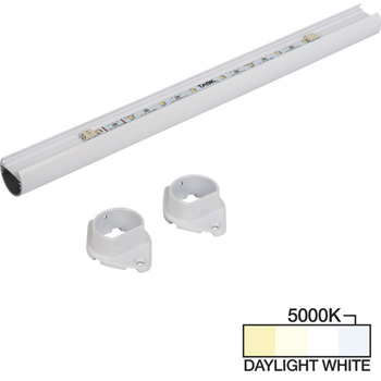 White Closet Rod, Daylight White 5000k View 2