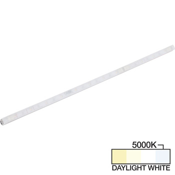 """Task Lighting sempriaLED® A Series Model SA9 6-3/4"""" to 48-3/4"""" Angled Mini Strip Light Frosted Fixture, Medium - Higher Light Output, Daylight White 5000k"""